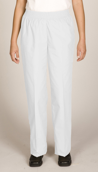 WOMEN'S POLY/COTTON PULL-ON-PANT - WOMEN'S POLY/COTTON PULL-ON-PANT