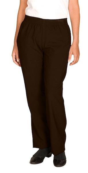 WOMEN'S SOLID PULL-ON-PANT - WOMEN'S SOLID PULL-ON-PANT
