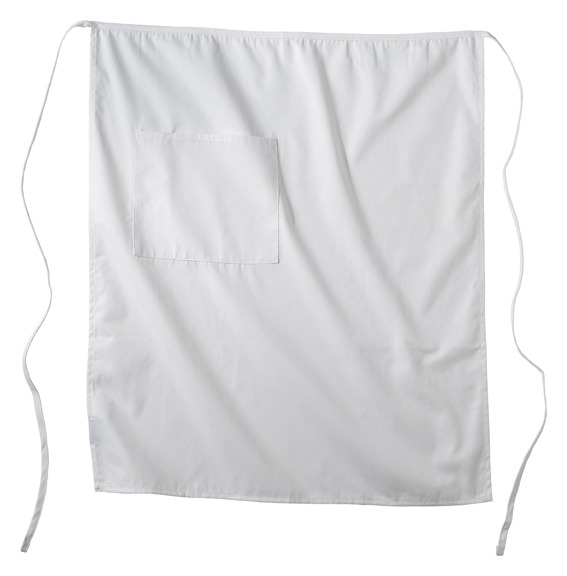 BISTRO APRON WITH ONE POCKET - BISTRO APRON WITH ONE POCKET