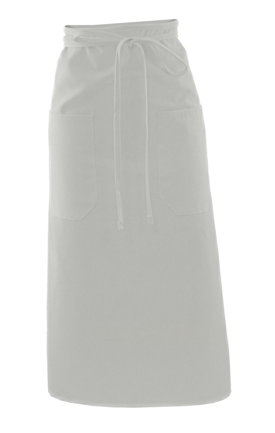 BISTRO APRON WITH TWO POCKETS - BISTRO APRON WITH TWO POCKETS