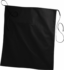 BISTRO APRON WITH SET-IN POCKETS - BISTRO APRON WITH SET-IN POCKETS