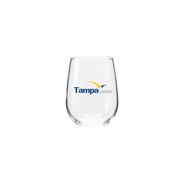 17 oz vina stemless white wine