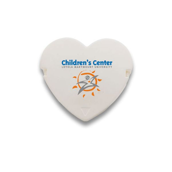 Heart Cubicle Clip - Heart-shaped cubicle clip attaches to fabric office dividers or corkboards with durable steel pins, to hold many times its own weight