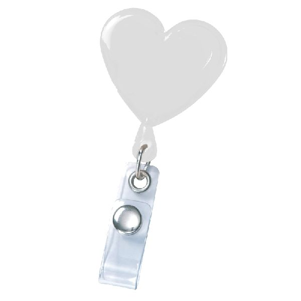 Heart Secure-A-Badge™ - Lightweight, heart-shaped design sends a caring message