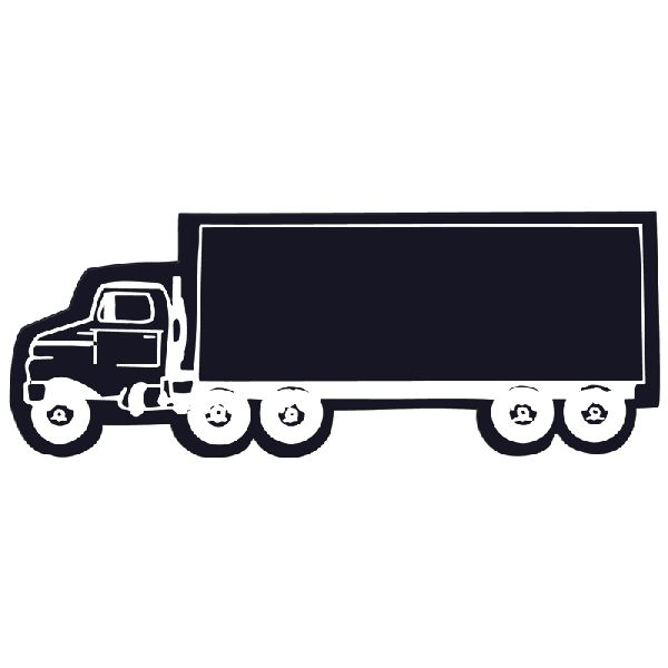Truck Flexible Magnet - Made of flexible 30 mil permanent magnet to adhere to any steel surface