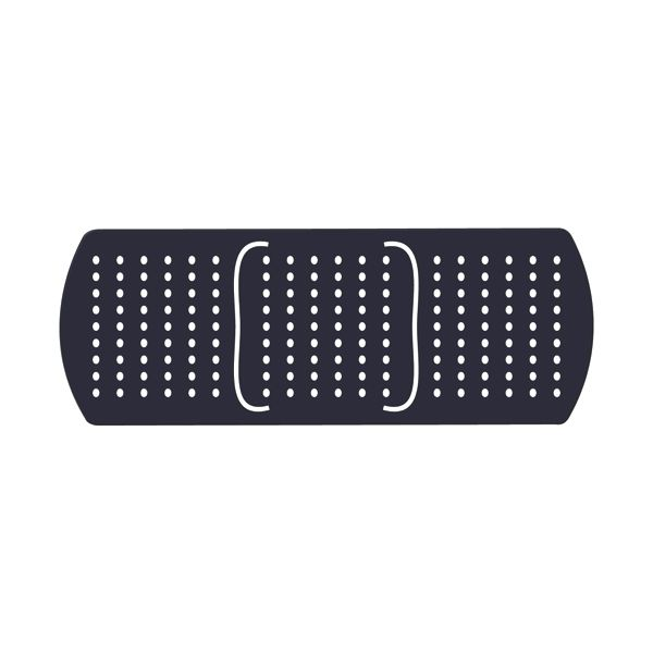 Bandage Flexible Magnet - Made of flexible 30 mil permanent magnet to adhere to any steel surface