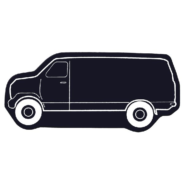 Delivery Van Flexible Magnet - Flexible 30 mil permanent magnet to adhere to any steel surface