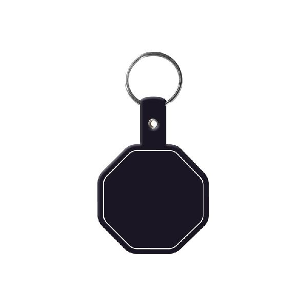 Stop Sign Flexible Key-Tag - To suit business and promotional themes
