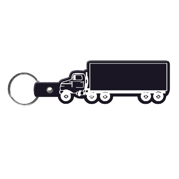 Truck Flexible Key-Tag - To suit business and promotional themes