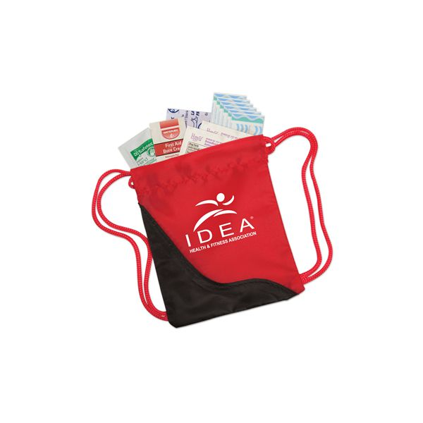 Mini Sling First Aid Kit - This item features a mini version of the popular sling bags filled withuseful first aid items