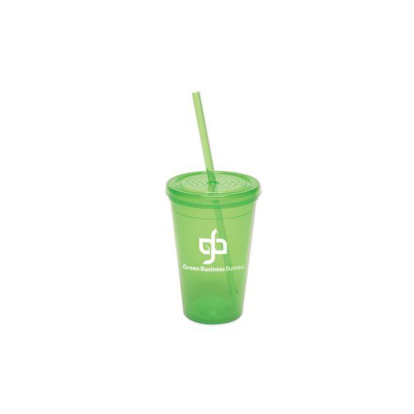 "16 Oz. Semi-Pro Tumbler - This Tumbler is BPA-Free Food Grade Polypropylene <font size=""4"">♷</font> (non-breakable)"