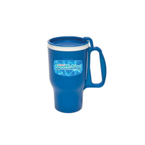 16. Oz. Traveler Mug - Large 16-ounce capacity mug designed for the long haul