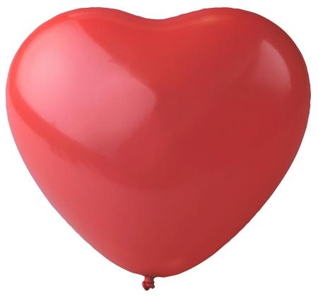 "16"" Crystal Heart Latex Balloons"