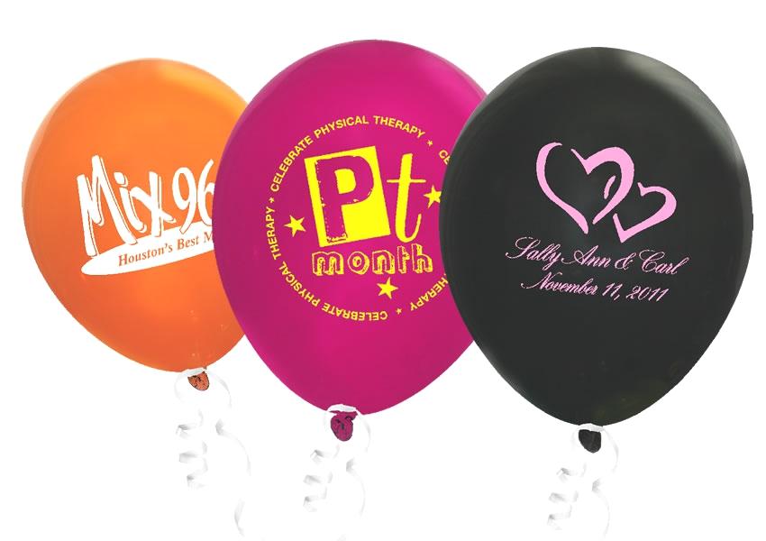 "9"" Crystal Latex Balloons"