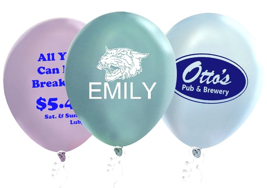 "9"" Pearl Latex Balloons"