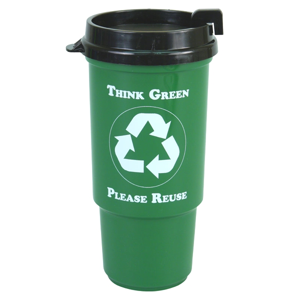 16 Oz Insulated Auto Cup- Recycled