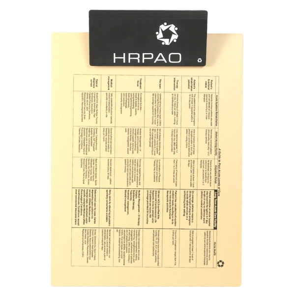Letter Clipboard w/Jumbo Clip - Recycled