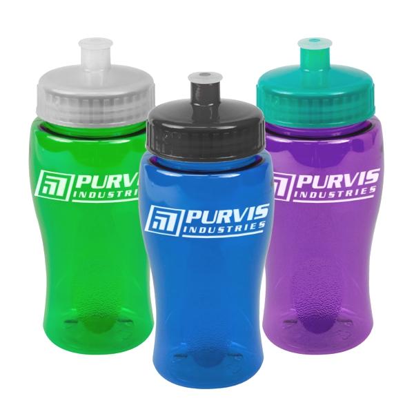 18 Oz Transparent Poly-pure Bottle
