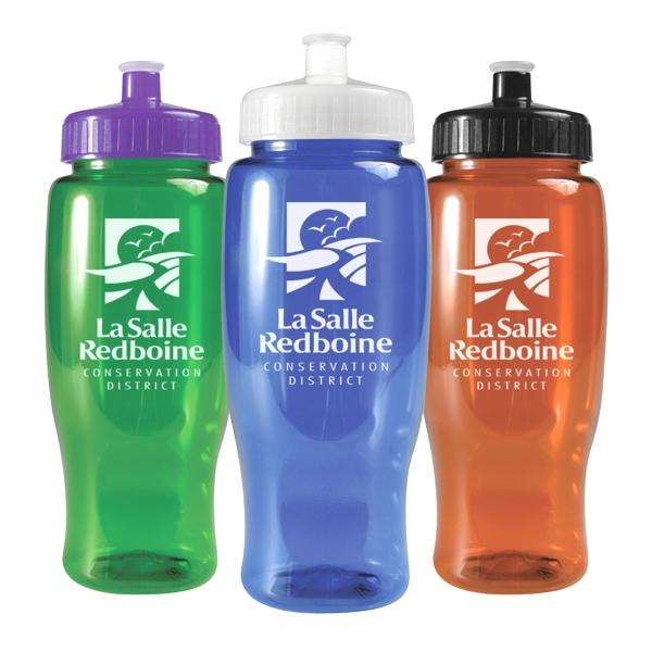27 Oz Transparent Poly-pure Bottle