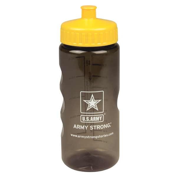 20 oz Sports Bottle With Push Pull Lid
