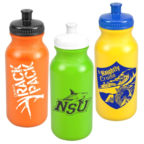 20 Oz Sport Water Bottle In Colors