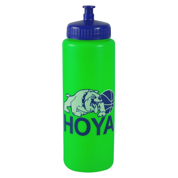 32 Oz Sports Bottle With Push Pull Lid