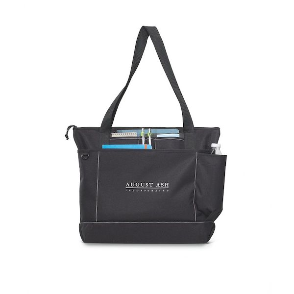 Avenue Business Tote - Perfect for the business meetings or tradeshows with a pocket for a tablet in a case.