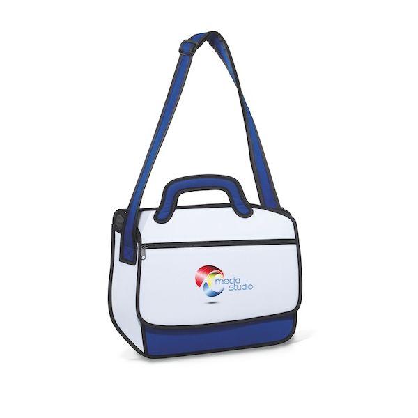 Sketch Messenger Bag - Whimsical and fun messenger bag.