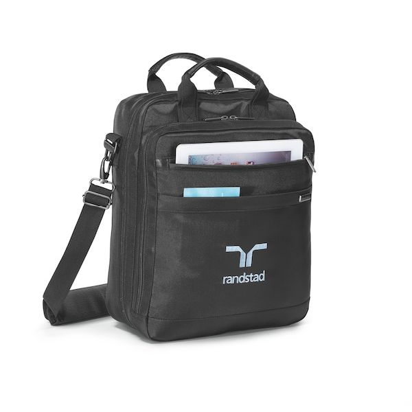Brookstone® Convertible Computer Portfolio - A portfolio or a backpack styled for the busy traveling professional.