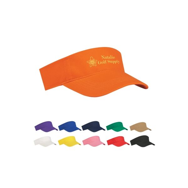 Budget Saver Non-Woven Visor (Silk-Screen)