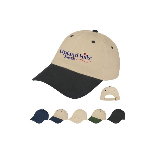 Brushed Cotton?twill Cap (Embroidered)