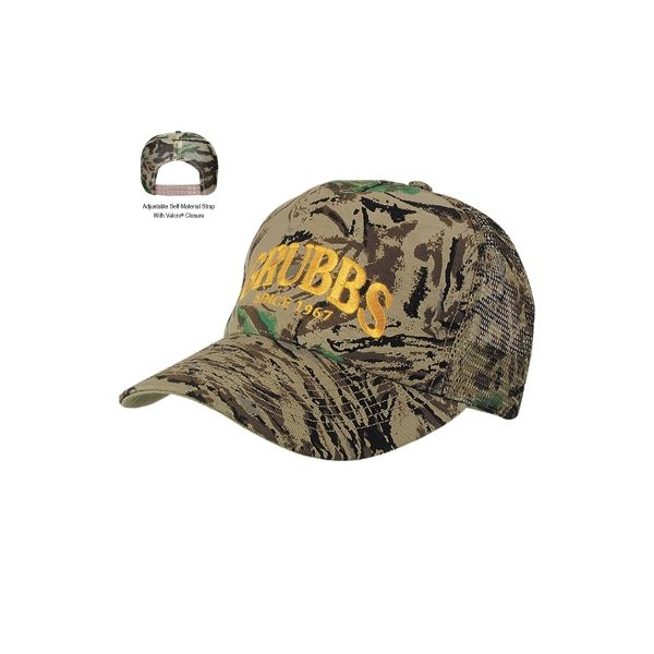 Mesh Back Camouflage Cap (Transfer)