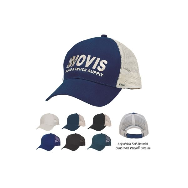 Mesh Back Price Buster Cap (Embroidered)