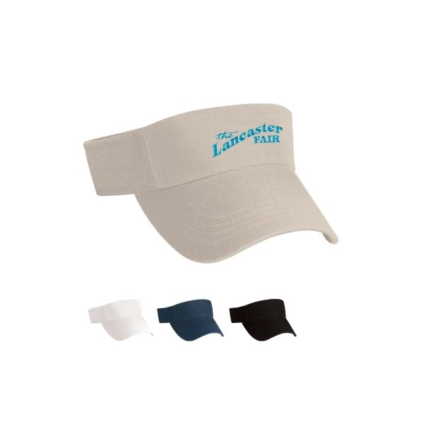 Cotton Chino Visor (Embroidered)