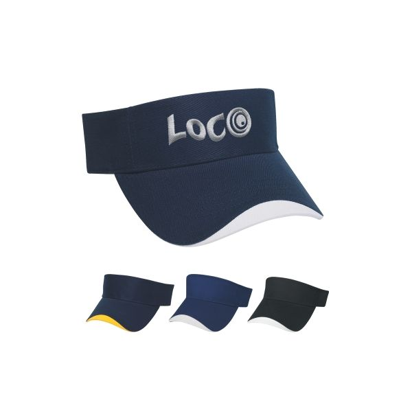 Wave Sandwich Visor (Embroidered)