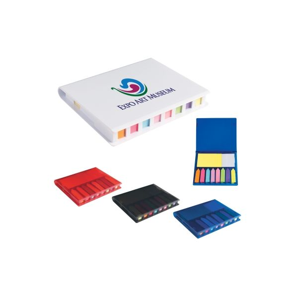 Memo Case With Sticky Flags & Notes