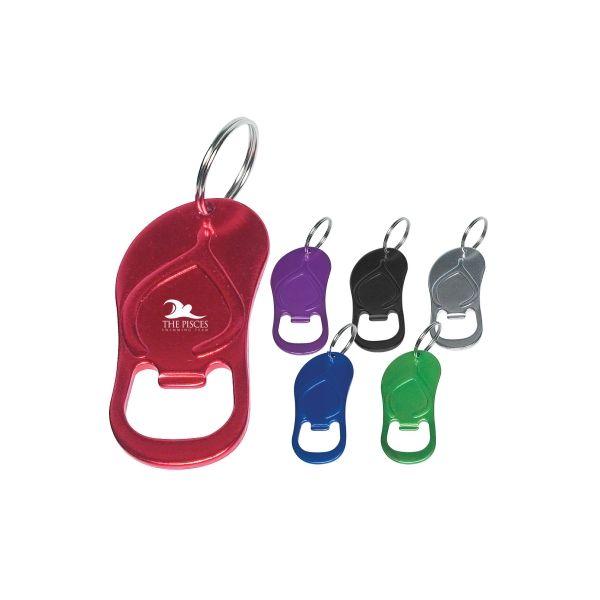 Sandal Bottle Opener Key Ring