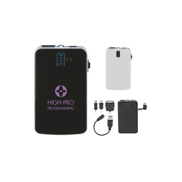 Portable Charger With LED Light
