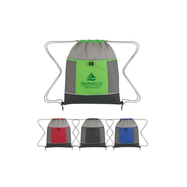 Nova Drawstring Backpack (Silk-Screen)