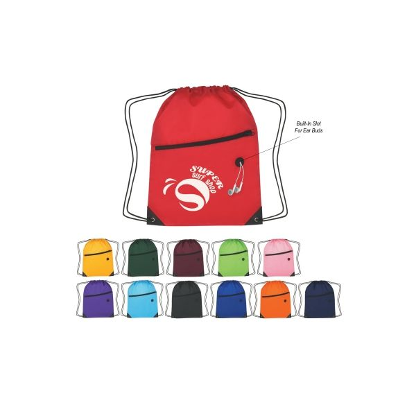 Hit Sports Pack With Front Zipper (Silk-Screen)