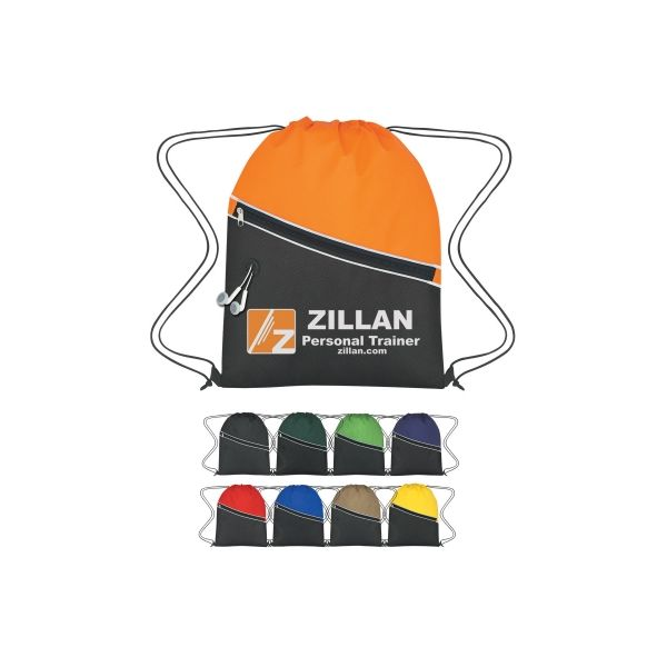 Non-Woven Two-Tone Hit Sports Pack (Silk-Screen)