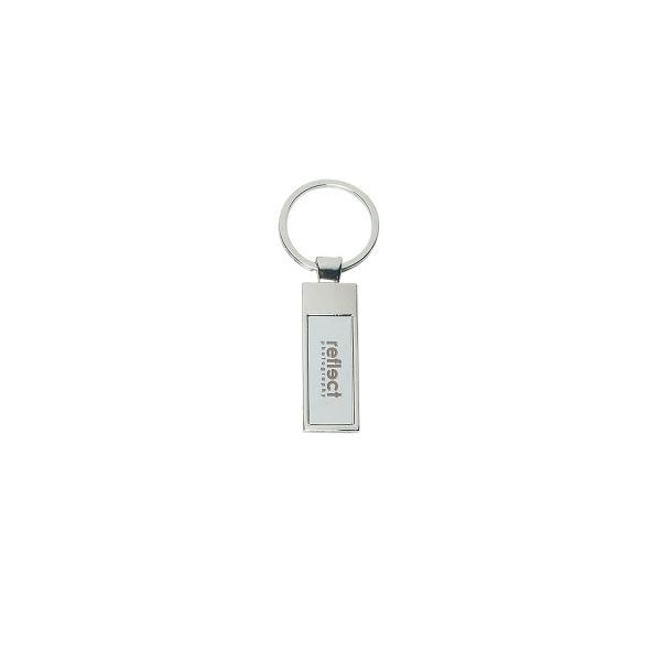 Rectangle Metal Key Tag