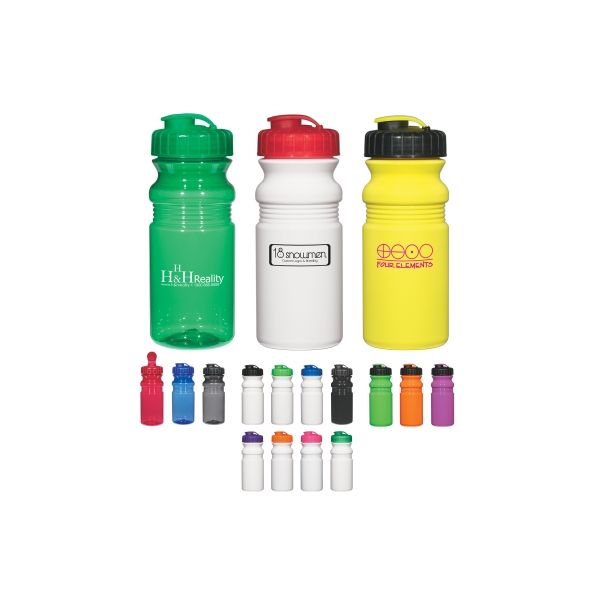 Poly-Clear?  20 Oz. Fitness Bottle With Super Sipper Lid