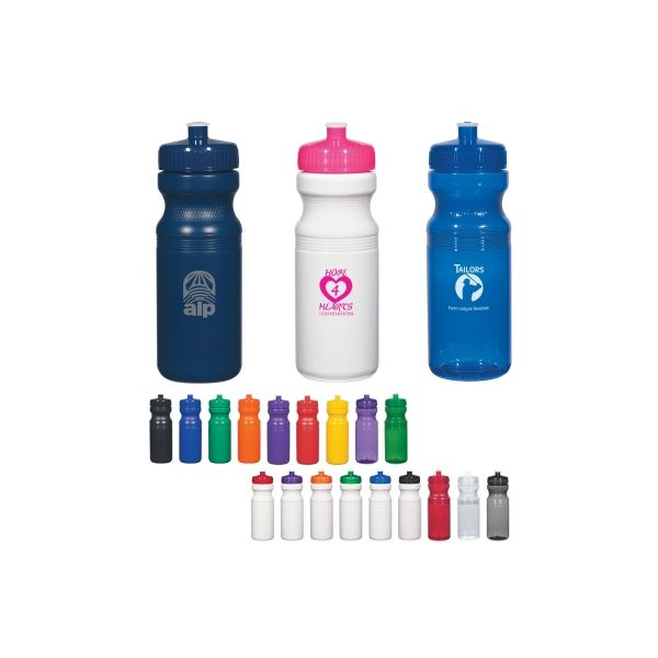 Poly-Clear?  24 Oz. Fitness Bottle