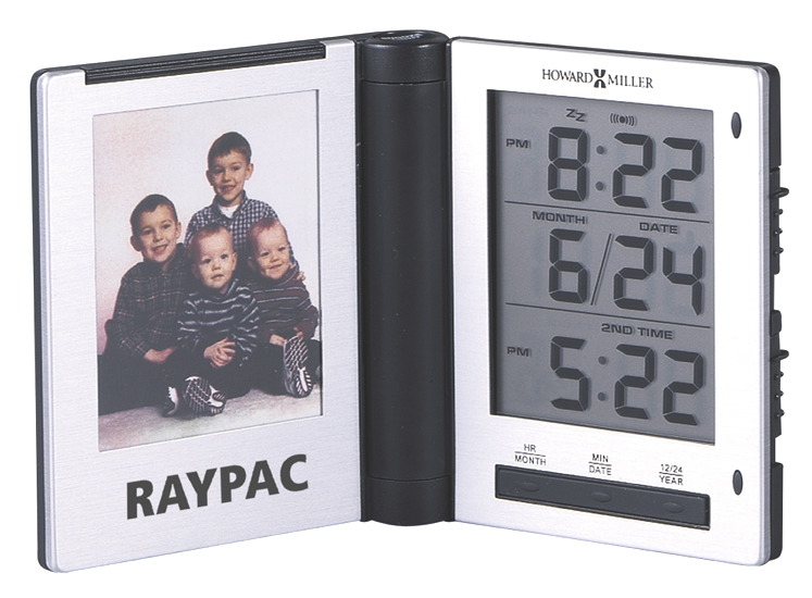 Photo Traveler - Folding travel alarm clock