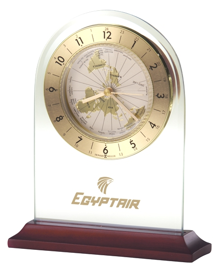 World Time Arch - World time tabletop alarm clock
