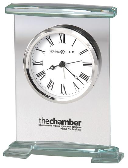 Augustine  - Glass bracket style tabletop alarm clock