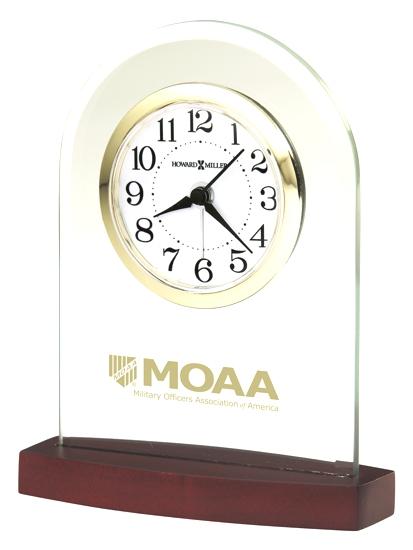 Hansen - Glass alarm tabletop clock