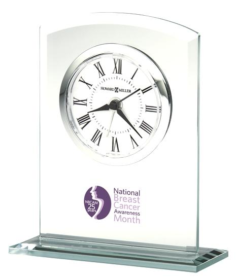 Medina  - Glass alarm tabletop clock