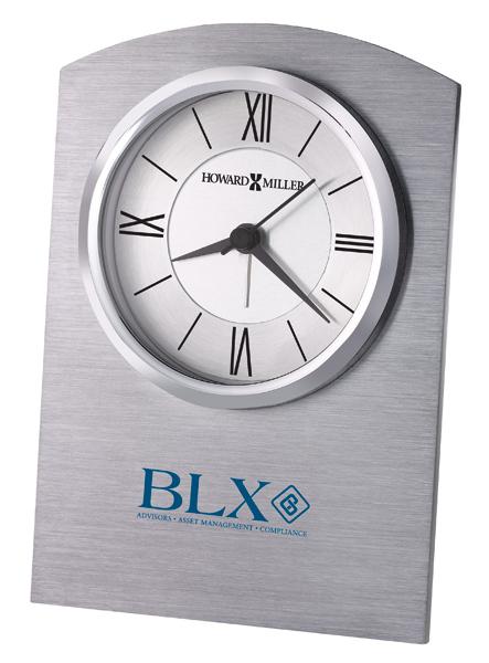 Sterling - Quartz aluminum alarm clock